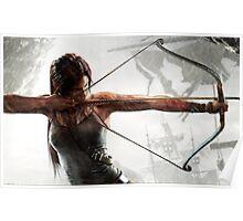 Tomb Raider - Lara Croft, hunting Poster
