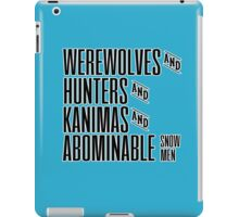 Every Full Moon iPad Case/Skin