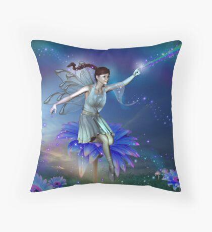 Colour My World Fairy Throw Pillow