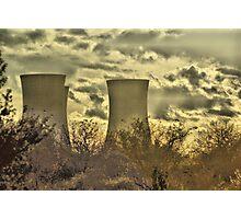 Richborough Power Station Photographic Print