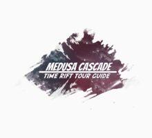 Medusa Cascade: Time Rift Tour Guide One Piece - Short Sleeve