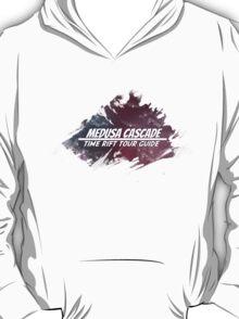Medusa Cascade: Time Rift Tour Guide T-Shirt