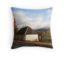 Autumn in Lochaber. Throw Pillow