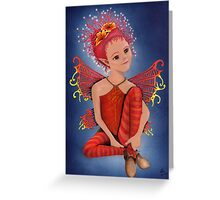 Night-time Fairy Greeting Card