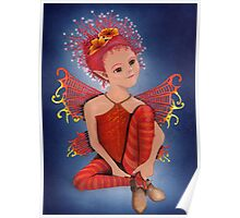 Night-time Fairy Poster