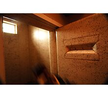 Padded Cell with Ghost Photographic Print