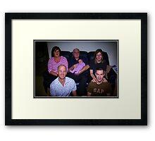 Four Generations Framed Print