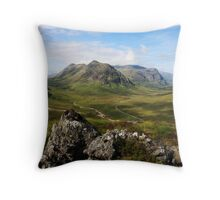 Glencoe from Beinn a' Chrulaiste. Throw Pillow