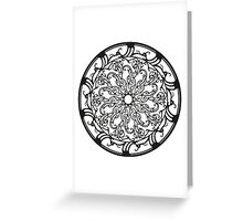 Circle 3 Greeting Card
