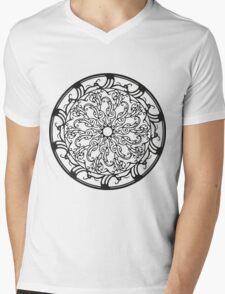 Circle 3 Mens V-Neck T-Shirt