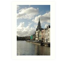 Cork city, Ireland Art Print
