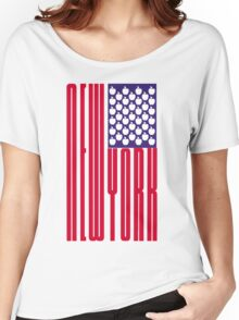 New York Big Apple Women's Relaxed Fit T-Shirt