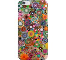 Childhood Dreams, a colourful spirograph drawing! iPhone Case/Skin