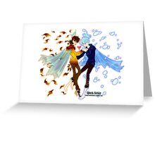 Seasons Dance Greeting Card