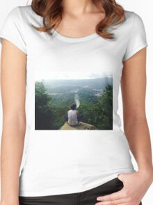 Smoky Mountain Women's Fitted Scoop T-Shirt