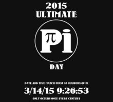 Pi Day 2015 -- Once in a Century by Samuel Sheats