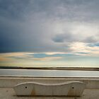 Lonely Bench - April by Louis-Thibaud Chambon