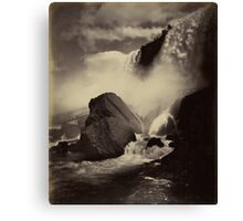 Niagara Falls around 1888 Photograph Canvas Print