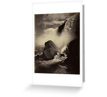 Niagara Falls around 1888 Photograph Greeting Card