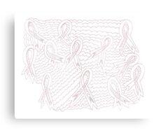 Sea of Pink Ribbons Canvas Print