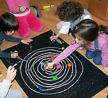 Making The Solar System by Minerva -Athina