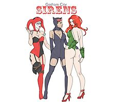 Gotham City Sirens Photographic Print