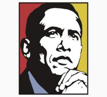 PRESIDENT BARACK OBAMA-44 by OTIS PORRITT
