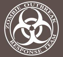 Zombie Outbreak Response Team - dark Kids Clothes
