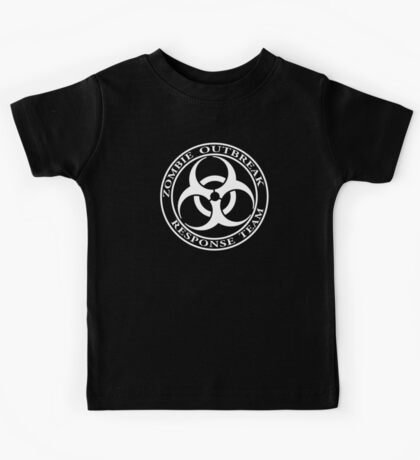 Zombie Outbreak Response Team - dark Kids Tee