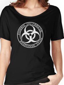 Zombie Outbreak Response Team - dark Women's Relaxed Fit T-Shirt
