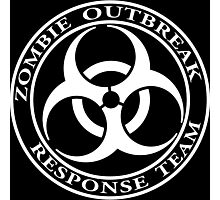 Zombie Outbreak Response Team - dark Photographic Print