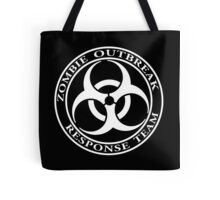 Zombie Outbreak Response Team - dark Tote Bag