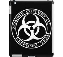 Zombie Outbreak Response Team - dark iPad Case/Skin