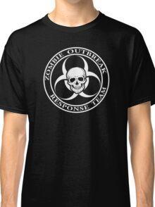 Zombie Outbreak Response Team w/ skull - dark Classic T-Shirt