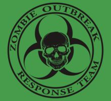 Zombie Outbreak Response Team w/ skull - light Kids Clothes