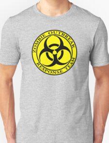 Zombie Outbreak Response Team - yellow T-Shirt