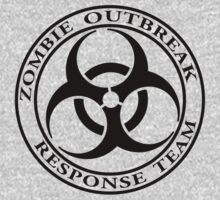 Zombie Outbreak Response Team - light Kids Clothes