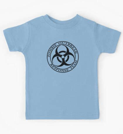Zombie Outbreak Response Team - light Kids Tee