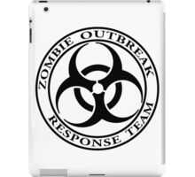Zombie Outbreak Response Team - light iPad Case/Skin
