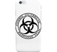 Zombie Outbreak Response Team - light iPhone Case/Skin