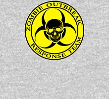 Zombie Outbreak Response Team w/ skull - yellow Unisex T-Shirt