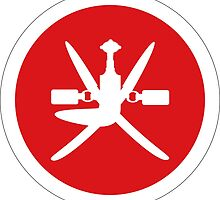 Roundel of Royal Air Force of Oman, 1959-1990 by abbeyz71