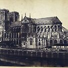 Notre Dame Cathedral 1850 - 1859 Paris France Photograph by T-ShirtsGifts