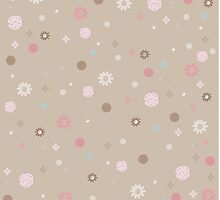 Dotted Spots and Flowers Pattern by solnoirstudios