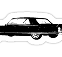 1962 Cadillac Sedan Sticker