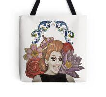 Clear Background Bianca Del Rio Design Tote Bag