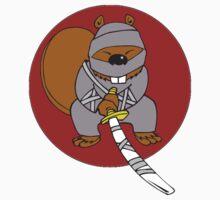 Ninja Beaver Kids Clothes