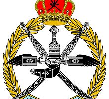 Emblem of the Royal Air Force of Oman by abbeyz71
