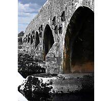 The bridge over the Suck Photographic Print