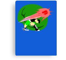 Super Smash Bros Little Mac Punch Canvas Print